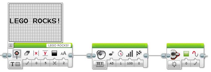 Ausgabe über das Display, den Statusleuchten und dem Lautsprecher
